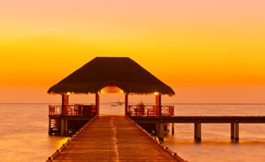 Maldives evening