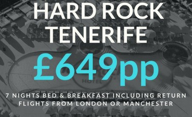 Hard Rock Tenerife Offer