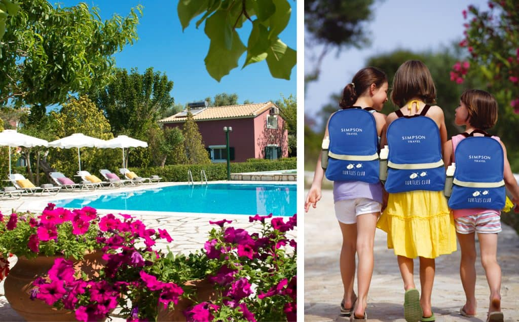 Simpson Travel Villas and family