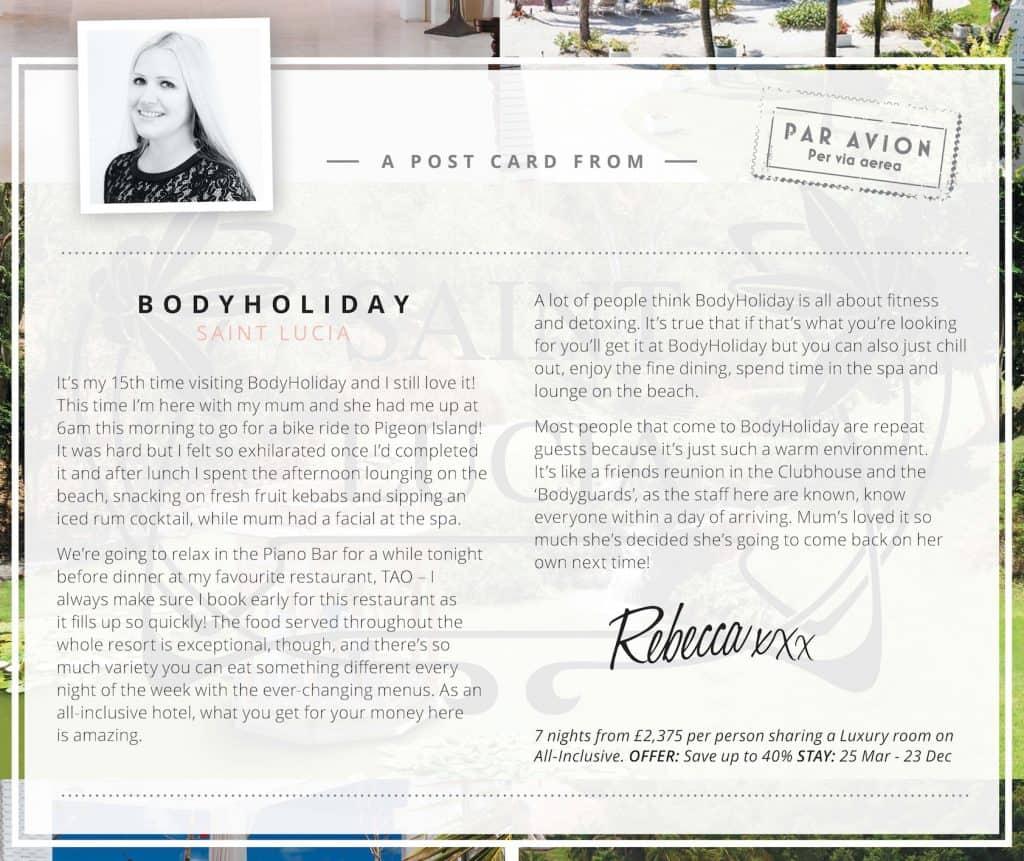 Body Holiday Blog