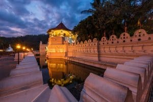 Temple of the Sacred Tooth, Sri Lanka