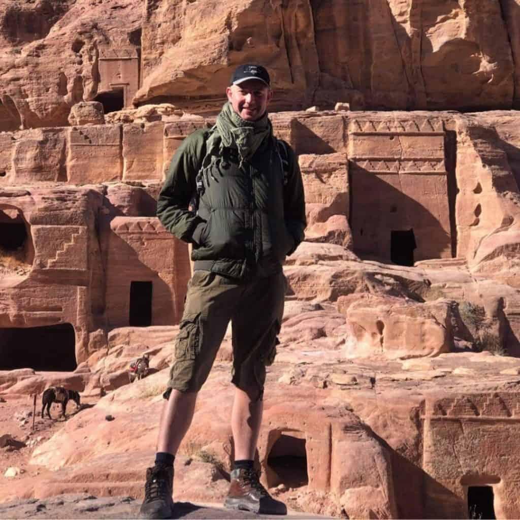 Ian in Petra