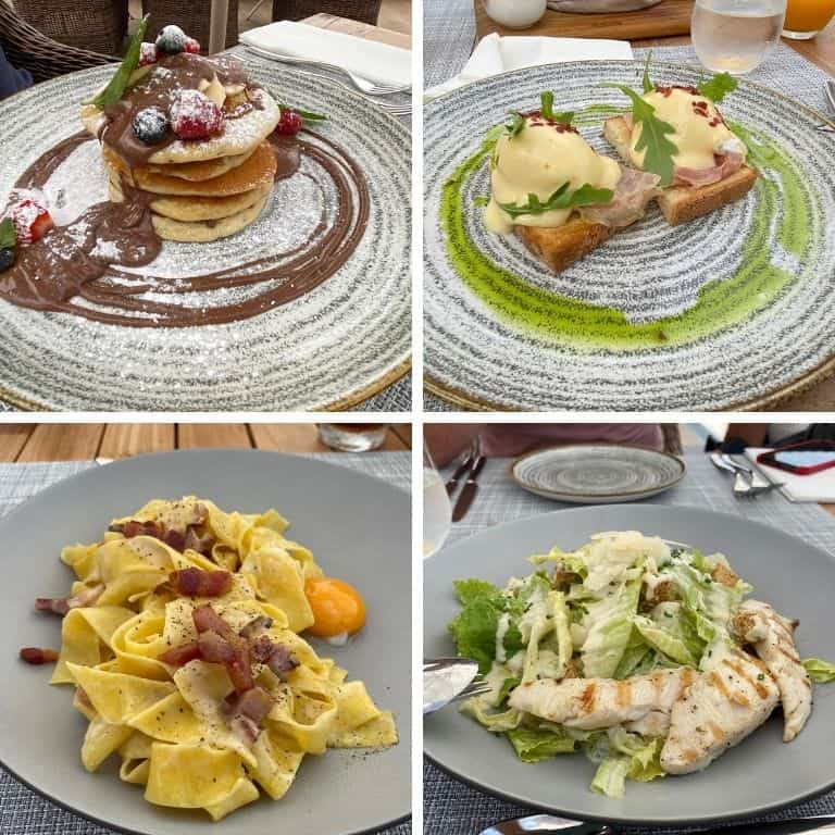 Food pictures Ikos Andalusia
